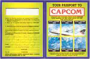 Capcom Passport Back