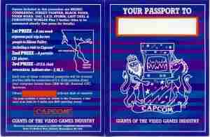 Capcom Passport Fron