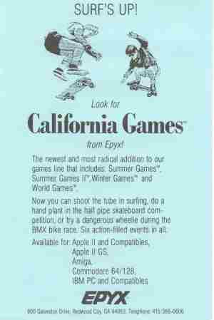 California Games AD