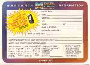 Reg Card Back